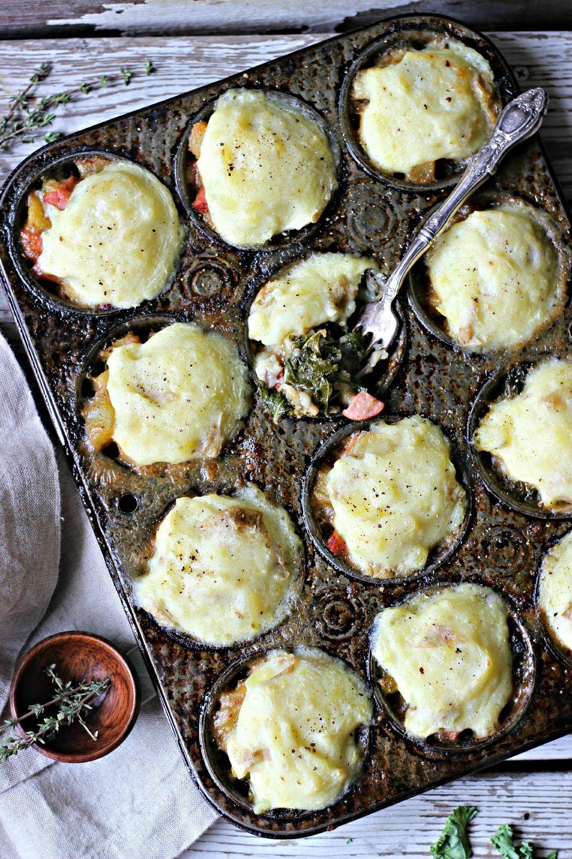 Mini Portuguese Kale Shepherd's Pies Recipe | HeyFood — heyfoodapp.com