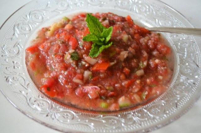 Andalusian Gazpacho Recipe   HeyFood — heyfoodapp.com