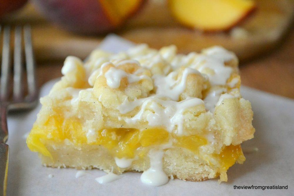 Jack Daniel's Peach Pie Bars Recipe   HeyFood — heyfoodapp.com