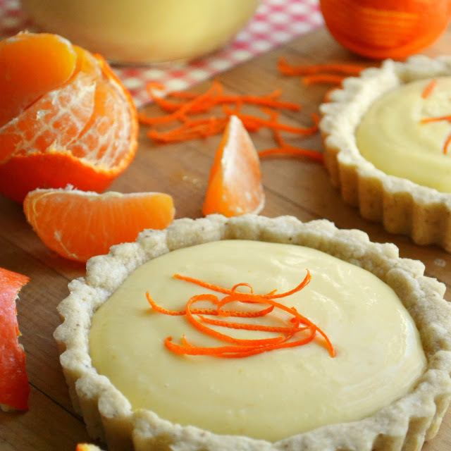 Clementine Cream Tarts Recipe | HeyFood — heyfoodapp.com