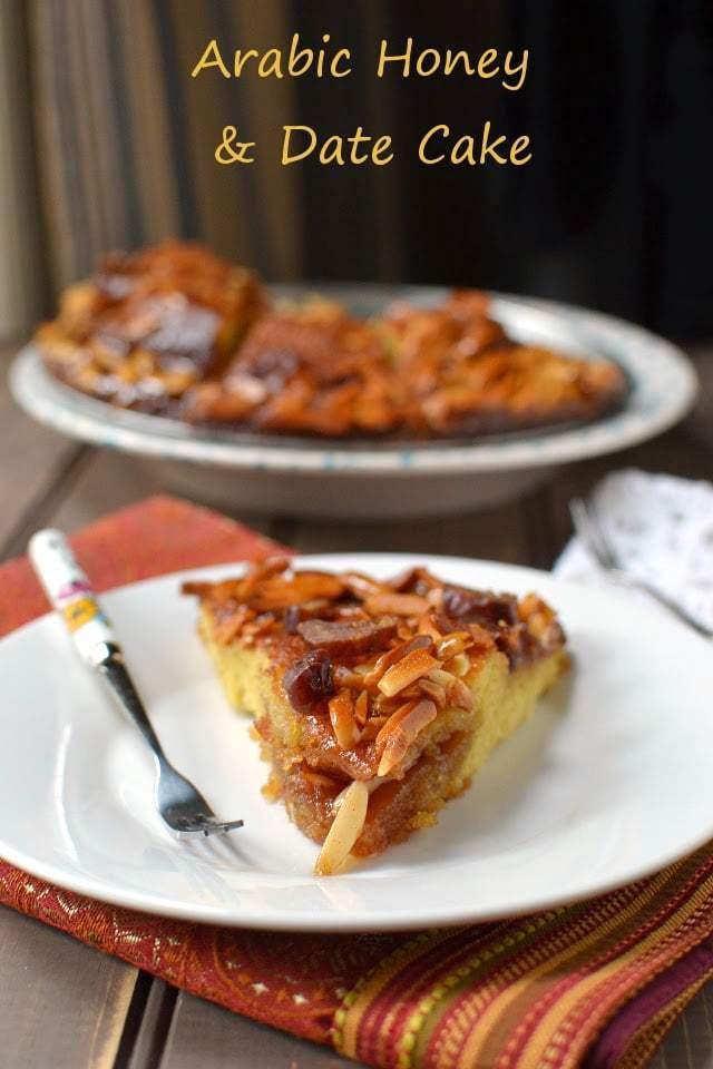 Middle Eastern Date & Honey Cake Recipe | HeyFood — heyfoodapp.com