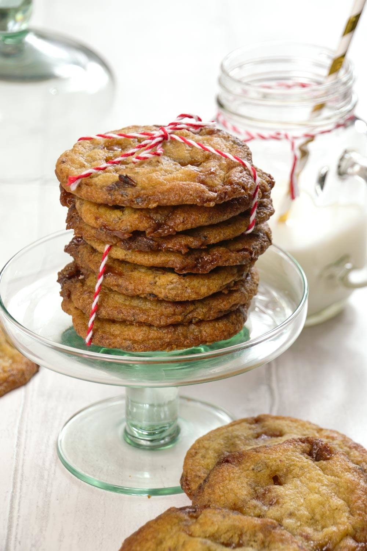 Sticky Toffee and Date Cookies Recipe | HeyFood — heyfoodapp.com