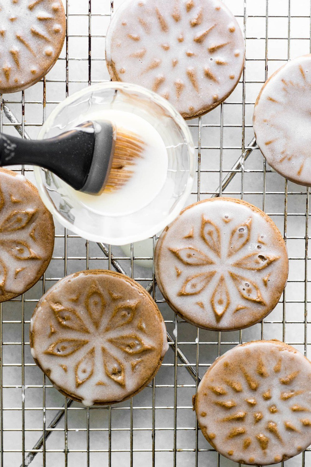 Soft Glazed Gingerbread Cookies Recipe | HeyFood — heyfoodapp.com