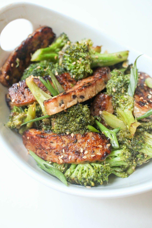 Tempeh and Broccoli Stir Fry Recipe | HeyFood — heyfoodapp.com