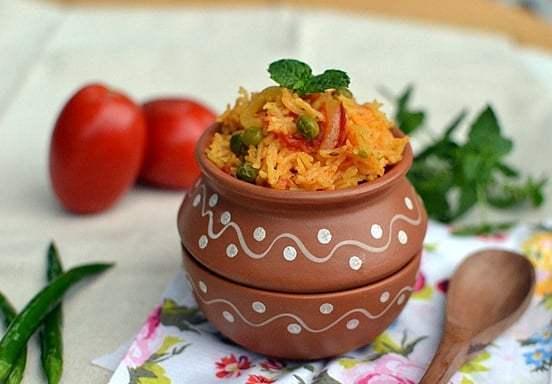Tomato Biryani Recipe | HeyFood — heyfoodapp.com