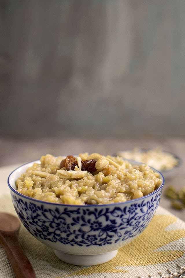 Godhuma Rava Pongali Recipe | HeyFood — heyfoodapp.com