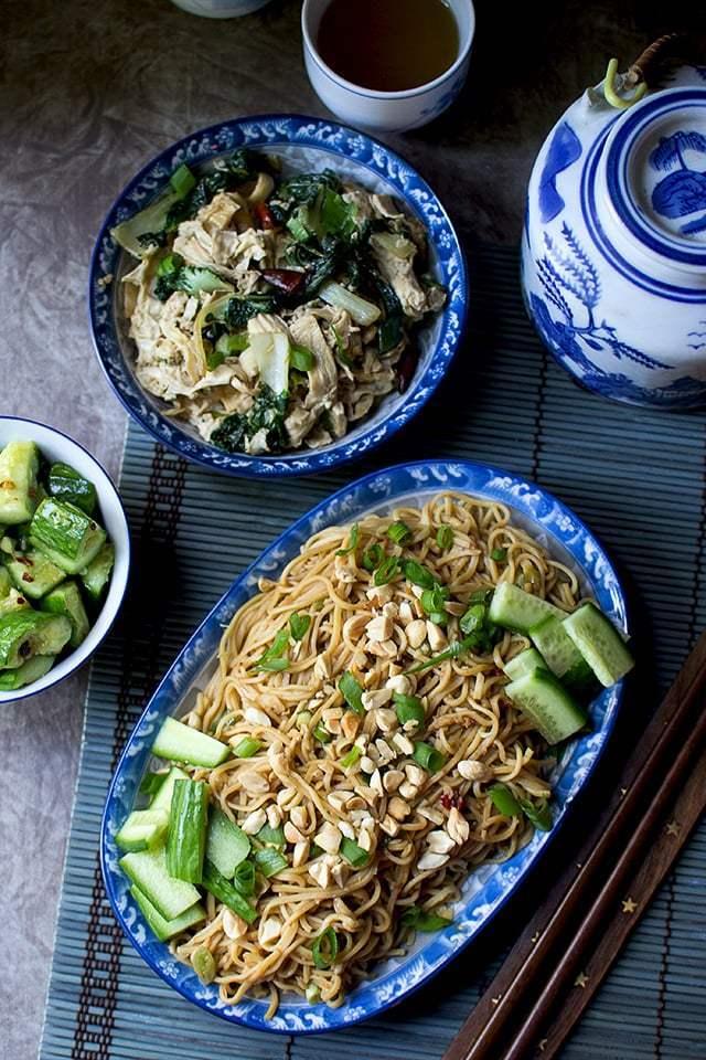 Chinese Cold Sesame Noodles (Liang Mian) Recipe | HeyFood — heyfoodapp.com