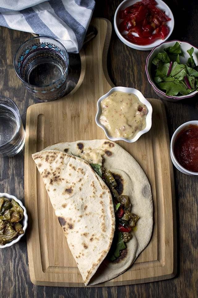Italian Piadine Sandwich Recipe | HeyFood — heyfoodapp.com