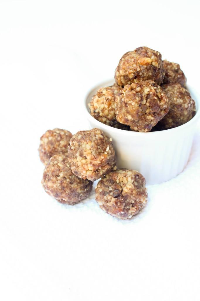 Cherry Apricot Energy Bites Recipe | HeyFood — heyfoodapp.com