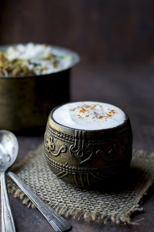 Bhurani Raita Recipe | HeyFood — heyfoodapp.com
