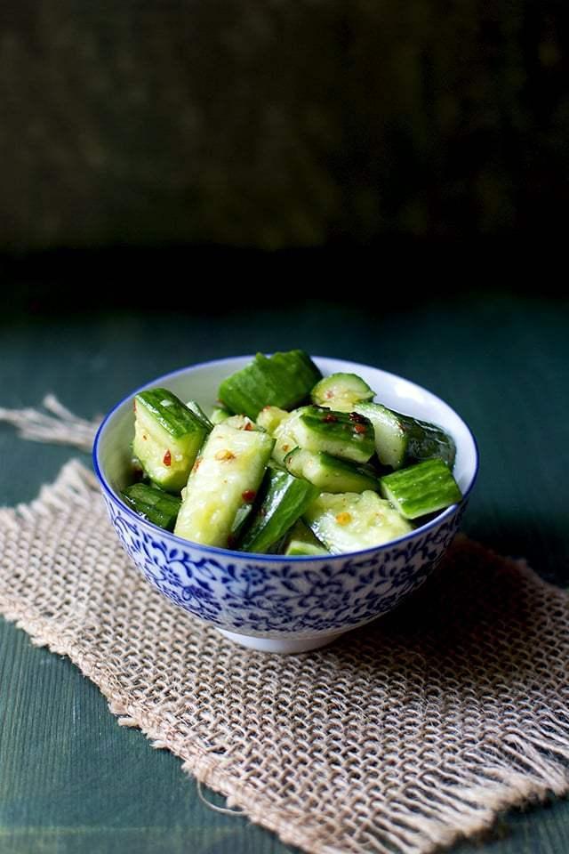 Chinese Cucumber Salad Recipe | HeyFood — heyfoodapp.com