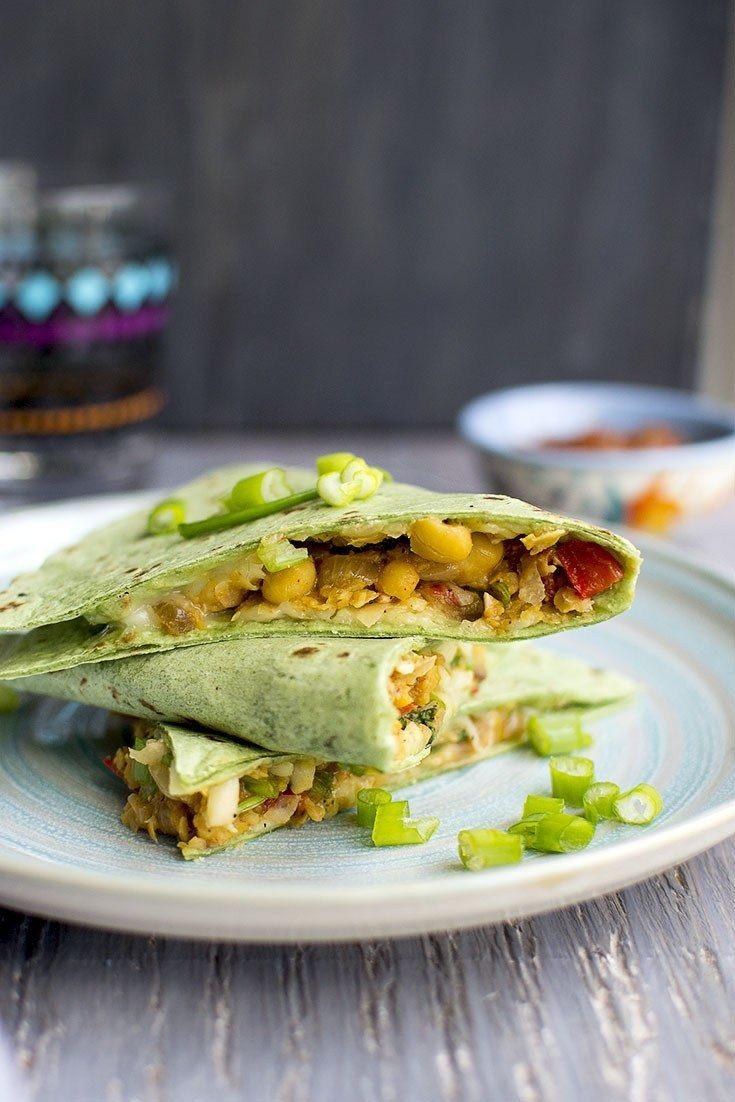Chickpea Quesadilla Recipe | HeyFood — heyfoodapp.com