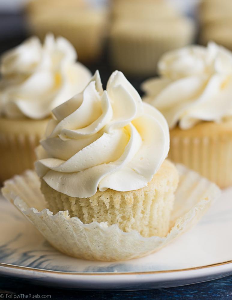 Classic Vanilla Cupcakes Recipe | HeyFood — heyfoodapp.com