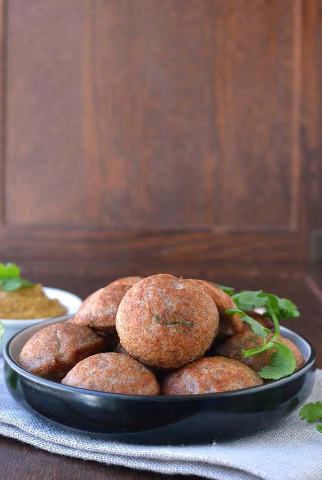 Ragi Paniyaram (Ragi Ponganalu) Recipe   HeyFood — heyfoodapp.com