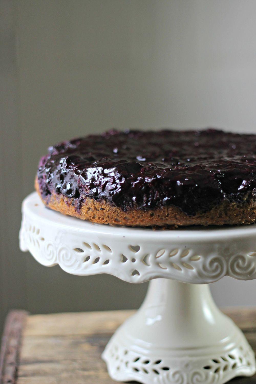 Blueberry Upside-Down Breakfast Cake Recipe | HeyFood — heyfoodapp.com