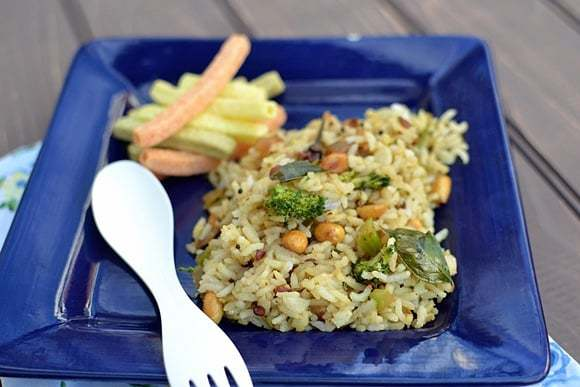 Broccoli Pulihora (Lemon Rice with Broccoli) Recipe | HeyFood — heyfoodapp.com