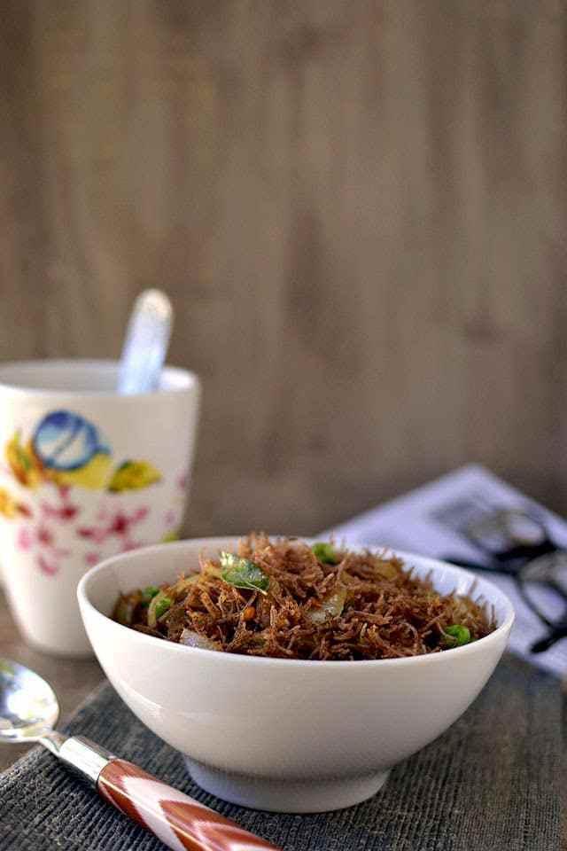 Ragi Semya Upma Recipe   HeyFood — heyfoodapp.com
