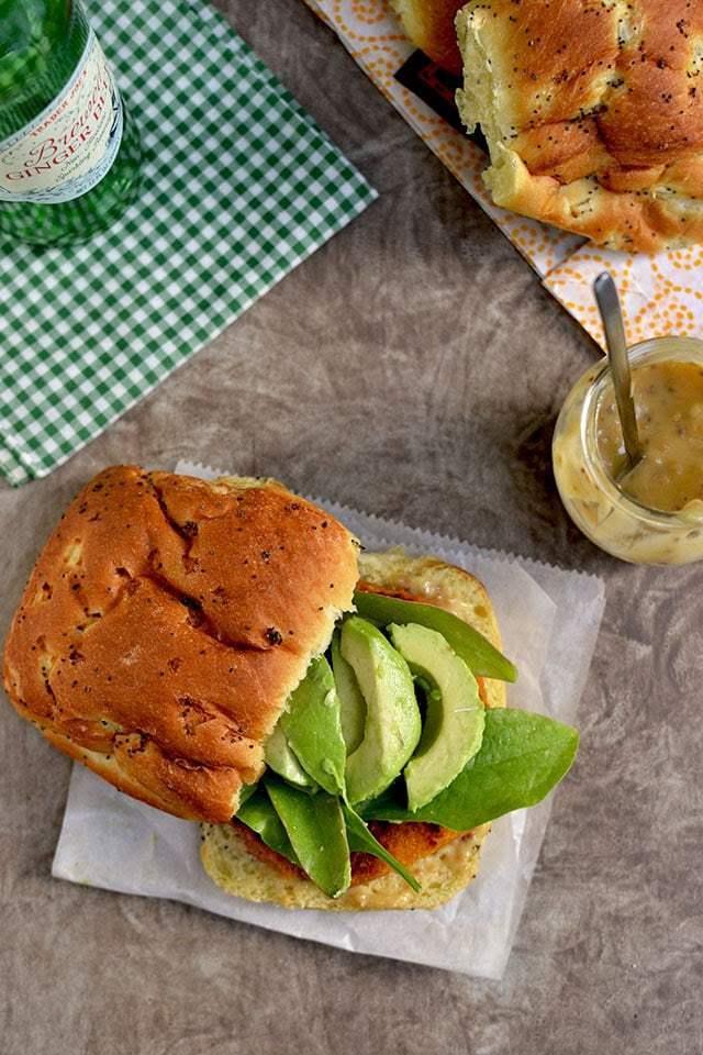 Sweet Potato-Chickpea Burger Recipe | HeyFood — heyfoodapp.com