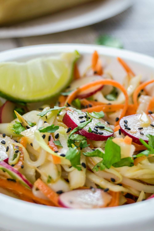 Spicy Asian Slaw Recipe | HeyFood — heyfoodapp.com