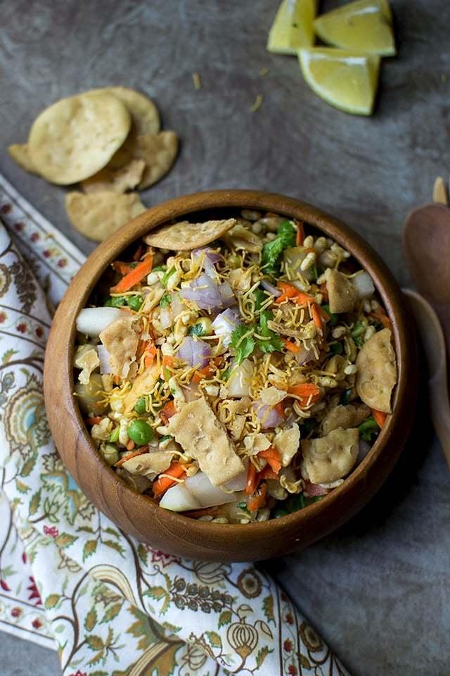 Mixed Vegetable Bhelpuri Recipe   HeyFood — heyfoodapp.com