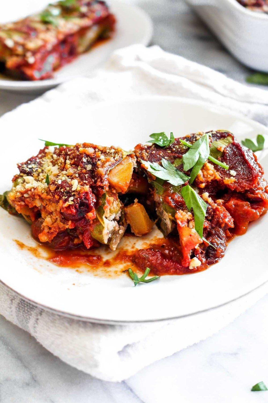 Fall Harvest Collard Rolls with Cranberry Tomato Sauce Recipe | HeyFood — heyfoodapp.com