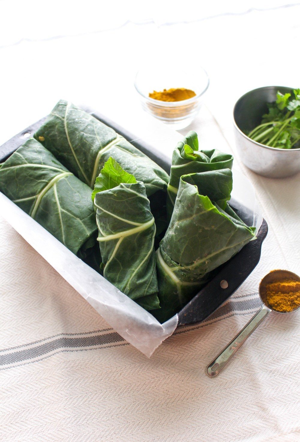 Curry Chickpea Salad Wraps Recipe | HeyFood — heyfoodapp.com