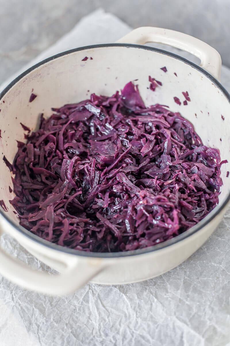 Braised Red Cabbage Recipe | HeyFood — heyfoodapp.com