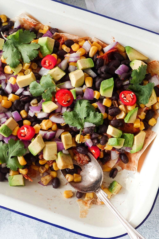 Amazingly Healthy Nachos  Recipe | HeyFood — heyfoodapp.com