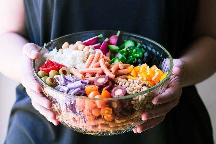 How to Make Gluten Free Pasta Salad That Actually Tastes Fabulous Recipe | HeyFood — heyfoodapp.com