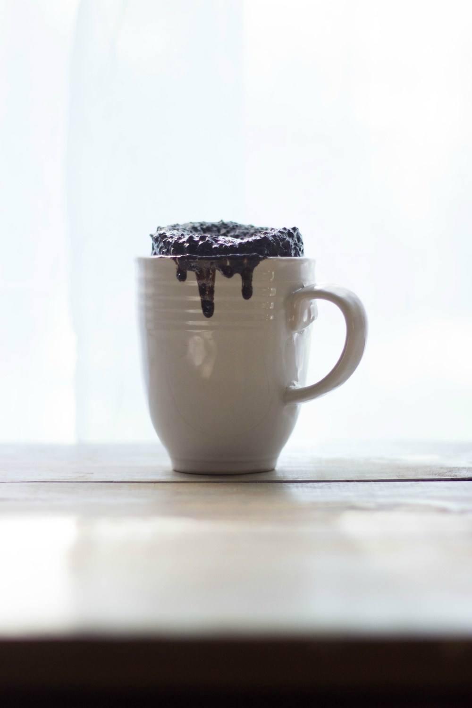 Cup of Dark Chocolate Espresso Cake Recipe | HeyFood — heyfoodapp.com
