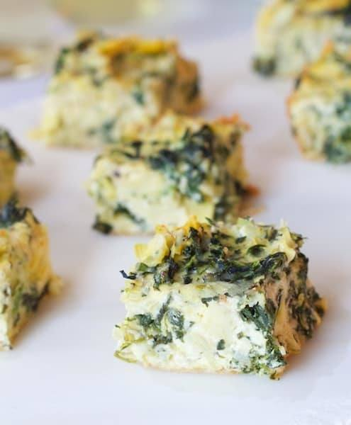 Spinach - Artichoke Squares Recipe | HeyFood — heyfoodapp.com