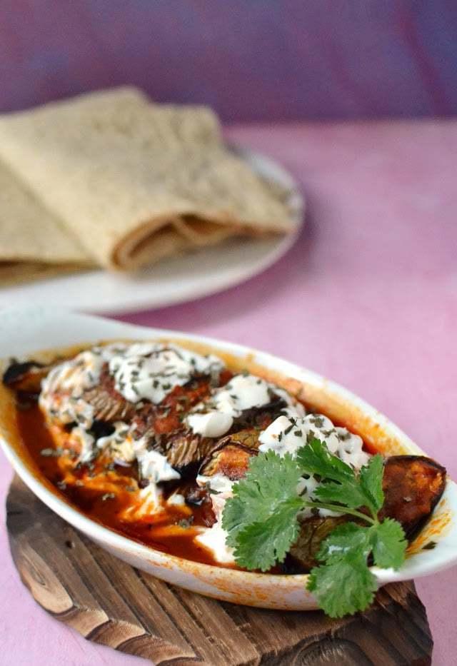 Borani Banjan (Afghan Layered Eggplant Dish) Recipe   HeyFood — heyfoodapp.com