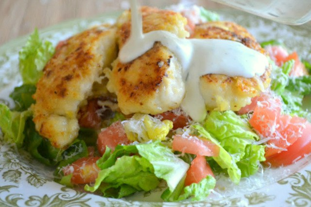 Lemon Chicken with Buttermilk Dressing Recipe | HeyFood — heyfoodapp.com