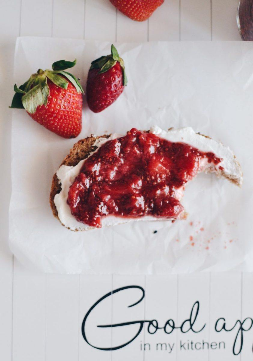 Chia strawberry jam Recipe | HeyFood — heyfoodapp.com