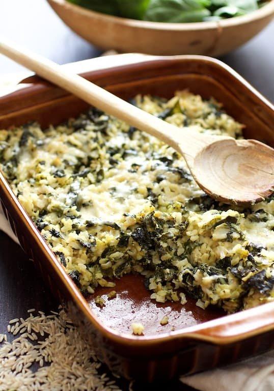 Grains and Greens Casserole Recipe | HeyFood — heyfoodapp.com
