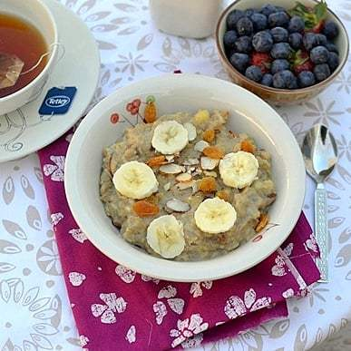Banana Bread Oatmeal Recipe | HeyFood — heyfoodapp.com