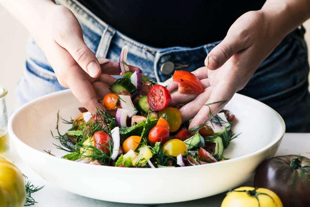 Shirazi Salad Recipe | HeyFood — heyfoodapp.com