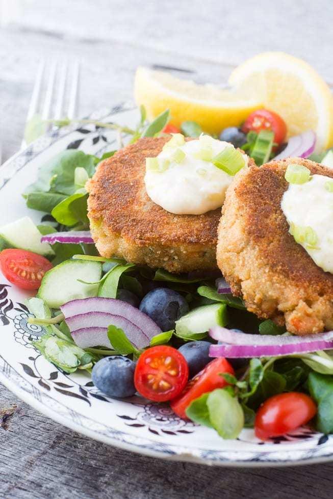 Salmon and Zucchini Burgers Recipe | HeyFood — heyfoodapp.com