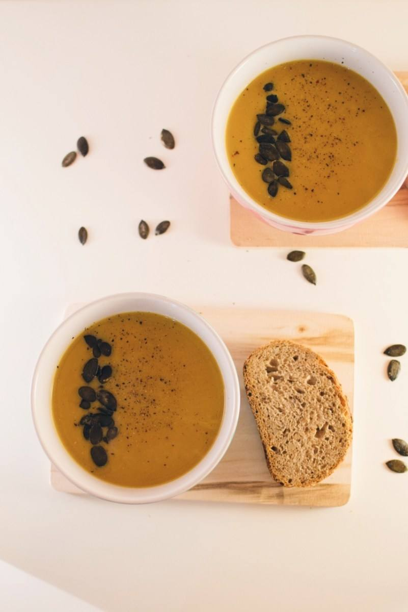 Curry & pumpkin soup Recipe | HeyFood — heyfoodapp.com