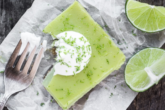 Tangy Lime Bars Recipe   HeyFood — heyfoodapp.com