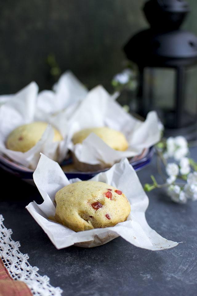 Eggless Mawa Cupcakes Recipe   HeyFood — heyfoodapp.com