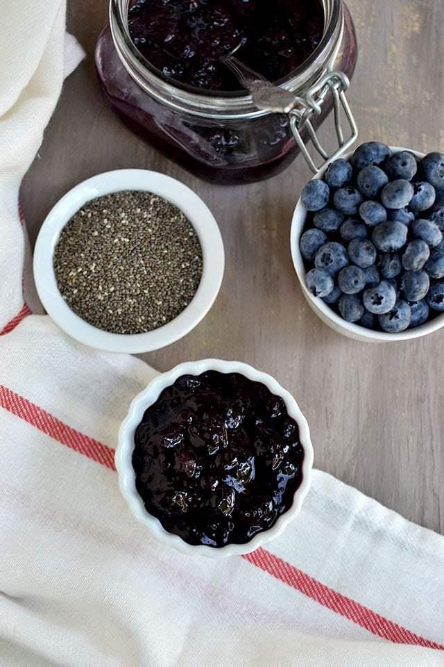Blueberry Chia Jam Recipe | HeyFood — heyfoodapp.com