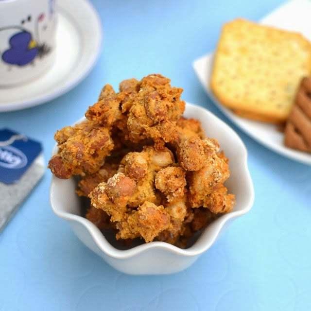 Baked Masala Peanuts Recipe | HeyFood — heyfoodapp.com