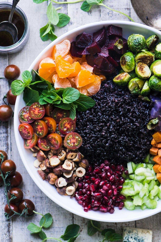 Winter Black Rice Salad Recipe | HeyFood — heyfoodapp.com