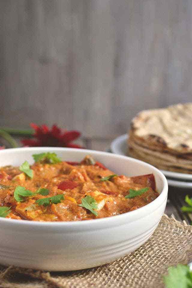 Shahi Mixed Vegetable & Paneer Curry Recipe | HeyFood — heyfoodapp.com