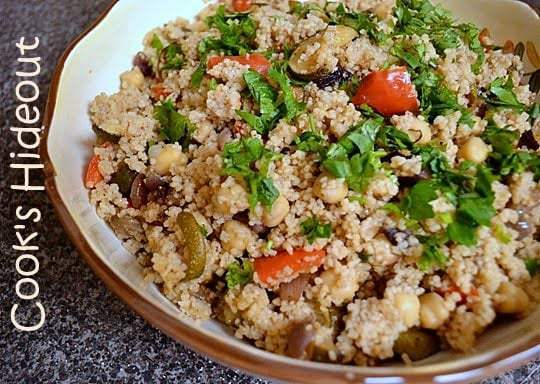 Couscous Salad with Roasted Vegetables Recipe | HeyFood — heyfoodapp.com