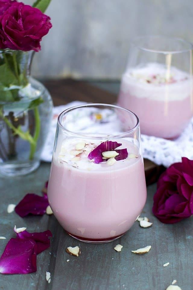 Rose Milk shake Recipe | HeyFood — heyfoodapp.com