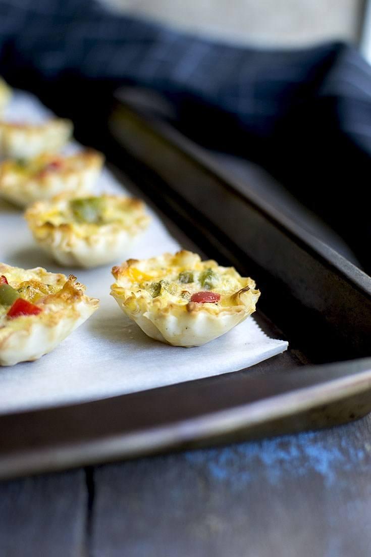 Mini Vegetable Quiche Recipe   HeyFood — heyfoodapp.com