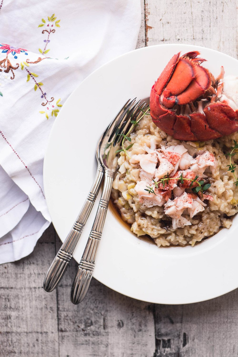6 Minute Instant Pot Lobster Risotto  Recipe | HeyFood — heyfoodapp.com