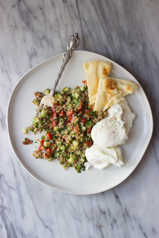 Breakfast Tabbouleh Recipe | HeyFood — heyfoodapp.com